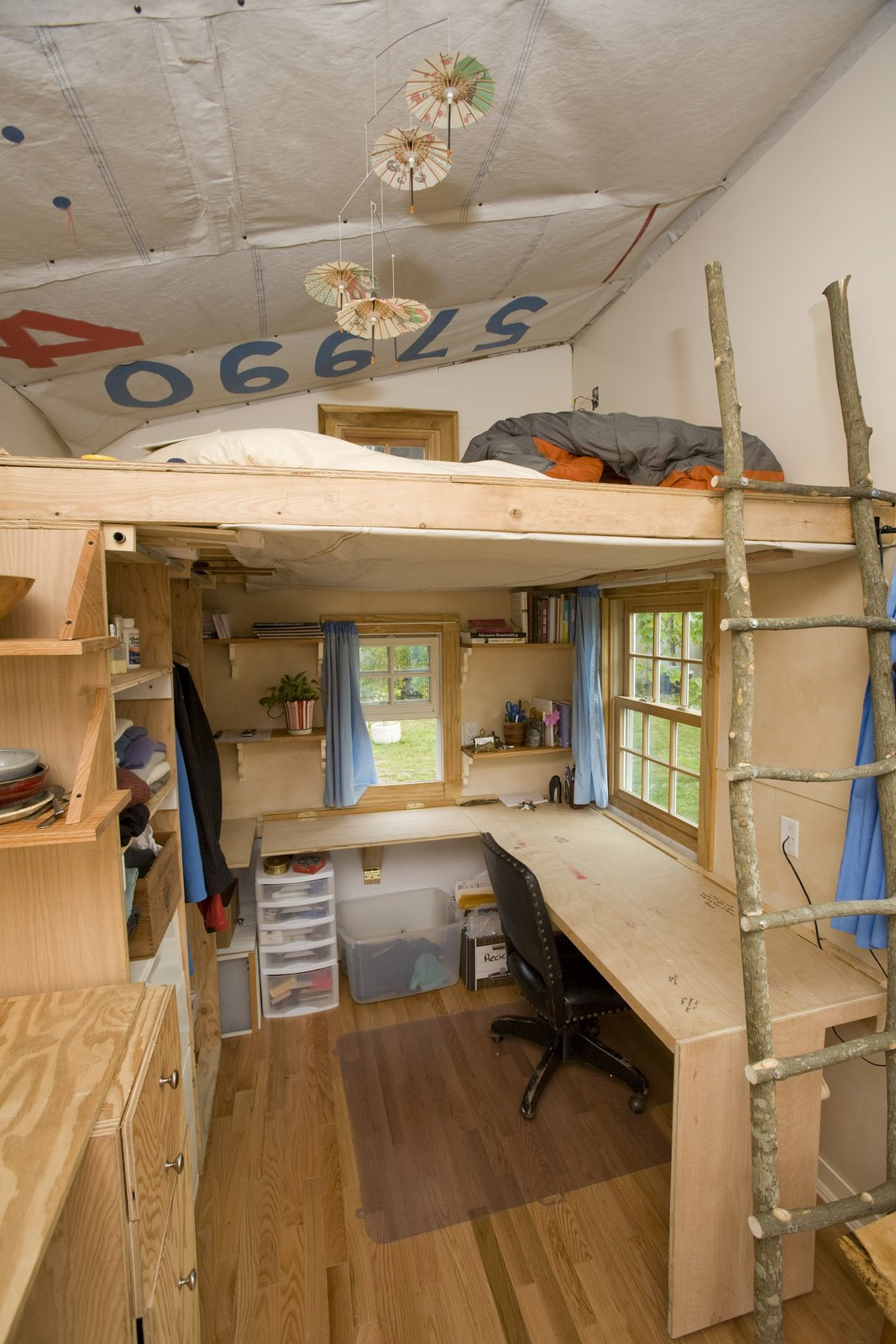 Small Homes Interior Turnbull Tiny House