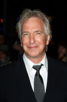 Alan Rickman at Sweeney Todd Premiere