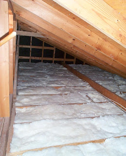 House Remodelling Insulating The Attic Over The Garage