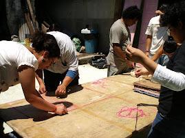 Alumnos del taller