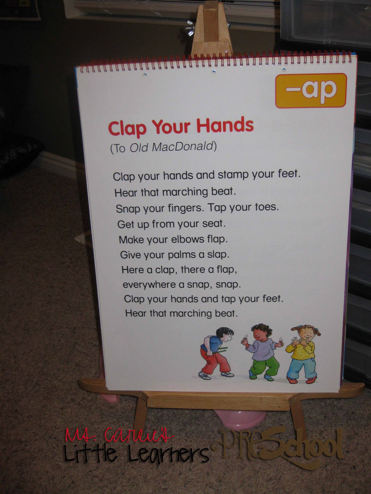 Ms Carlie S Little Learners Preschool October Week One