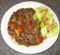 recettes  Rôti de boeuf à la mijoteuse