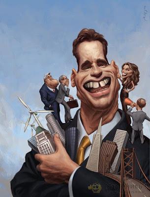caricaturas 4 Best Celebrities Caricature Illustration