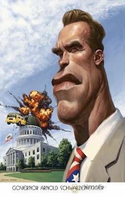 caricaturas 8 Best Celebrities Caricature Illustration