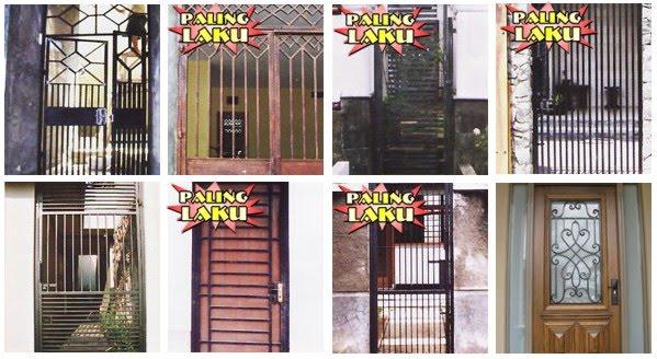 Terbaru 32+ Gambar Pintu Besi Plat