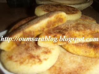 recettes dessert  Harcha au four
