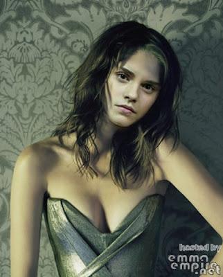 emma watson cleavage