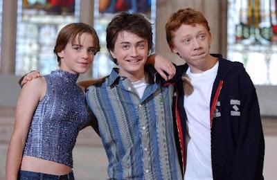 Daniel Radcliffe, Rupert Grint, Emma Watson