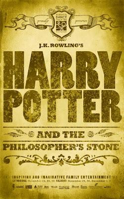 Harry Potter program cover