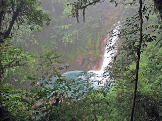 Erica Ridley in Costa Rica: Waterfall