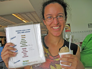 Erica Ridley in Costa Rica: Beer Ice Cream