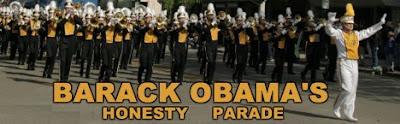 BARACK OBAMA HONESTY PARADE
