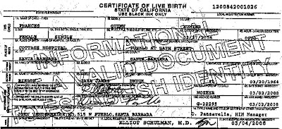 father sign birth certificate unc