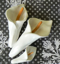 Calla Lily Sculptural Ceramic Pieces