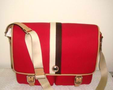 afd9f1bbf6 2129 AUTHENTIC BAGGS  NWT COACH RED CANVAS VOYAGER MESSENGER BAG