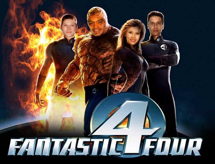 Los 4 fantasticos cine online gratis