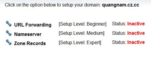sign up free domain name