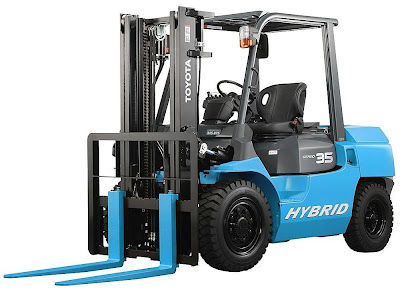 Toyota Hybrid Forklift