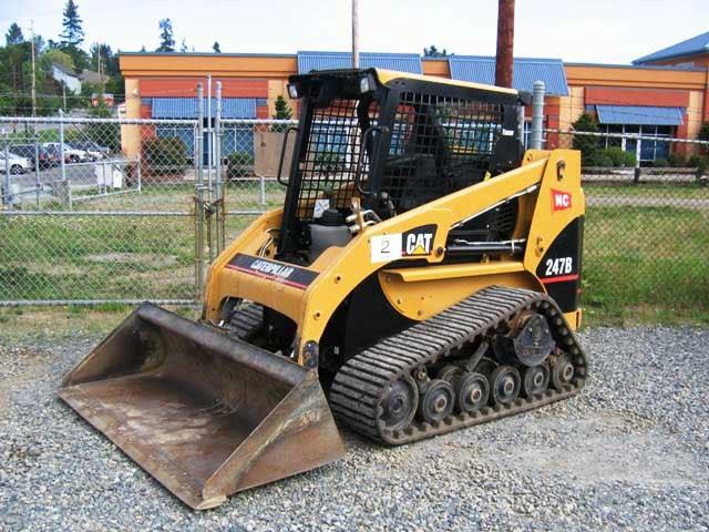 Caterpillar Equipment Caterpillar 247b And Cat 257b Multi