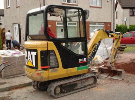 CAT 301 Mini Hydraulic Excavator