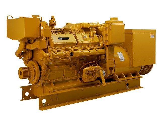 Cat 3212c Genset Marine Generator