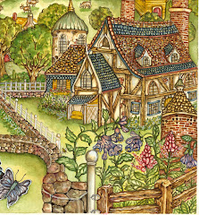 A dream cottage..from my book Bushky Bushybottom.