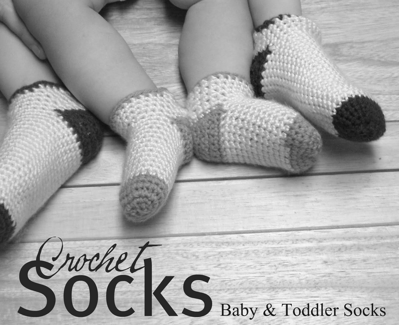 Baby – Toddler Crochet Socks