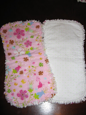 Bibs and Burp Cloths | AllFreeSewing.com - All Free Sewing - Free