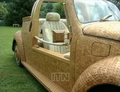 سيارات الخشب