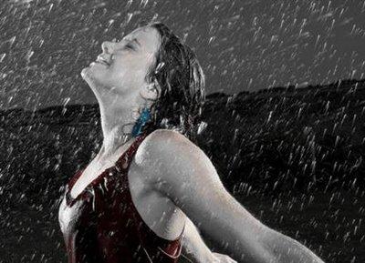 It´s raining again!