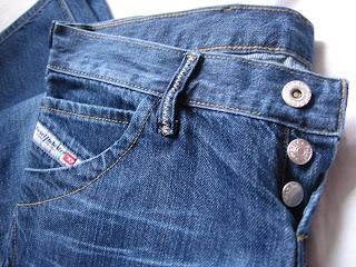 Ropa De Prestigiosas Marcas Pantalon Diesel Para Mujer