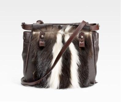 68c9ce45a129 A skunk fur handbag  Did Fendi go too far  Luxist weighs in on the  controversial skunk fur handbag