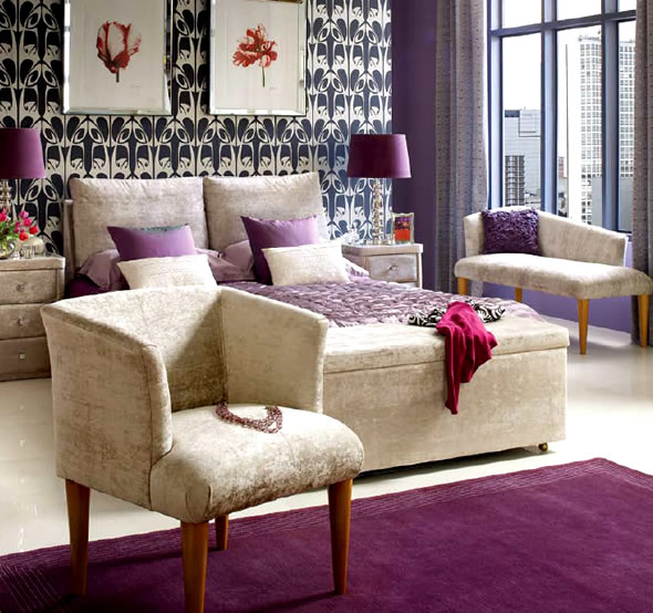 Purple Bedroom Ideas: The Girl In The Brick House: Purple Fever