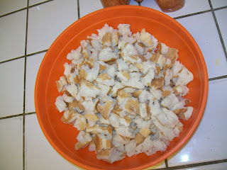 Homemade Freezer  Croutons