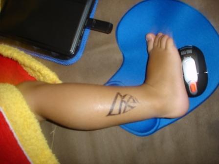 Gift par tatuering