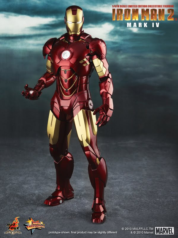 Hot Toys: Iron Man Mark IV | Mecha Blog