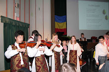"Violin section of ""Martisor"" orchestra"