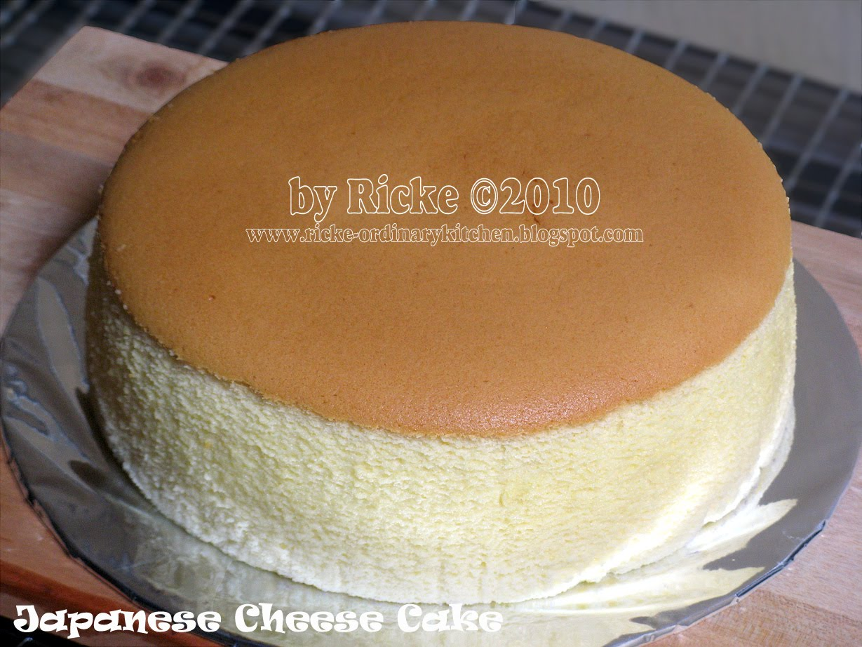 Butter Cake Recipe Japanese: Just My Ordinary Kitchen...: JAPANESE CHEESE CAKE (JCC