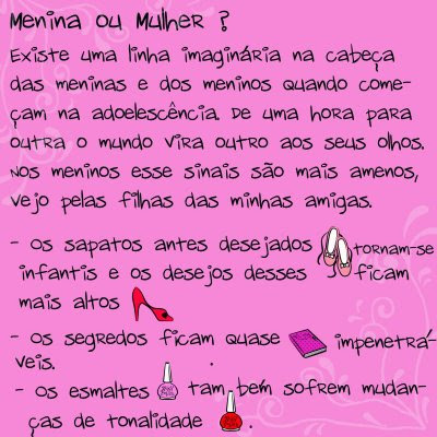 Blog de tudoparagarotas : ㅤㅤ тυdσ ραяα gαяσтα&#1, Diário