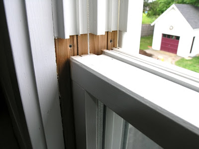 There Are 2 S At The Top Of Jamb Liner That Can Only Be Removed When You Have Both Window Sashes Been Lowered All Way Down