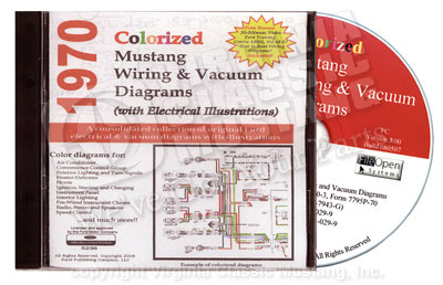 Virginia Classic Mustang Blog: 1970 Mustang Colorized Wiring Diagram ...