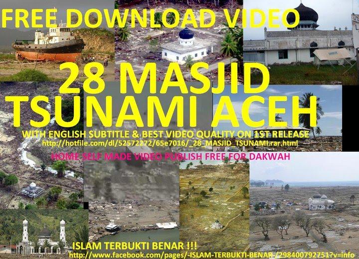Download video tragedi tsunami aceh.