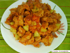 Nasi Lemak Lover Sweet And Sour Chicken Mayonnaise