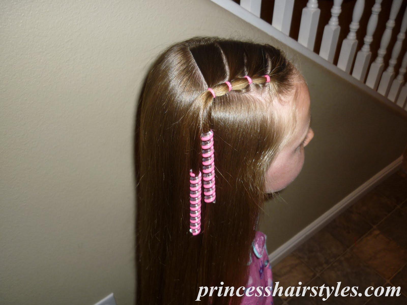 Super Elastics To The Side Hairstyles For Girls Princess Hairstyles Short Hairstyles Gunalazisus