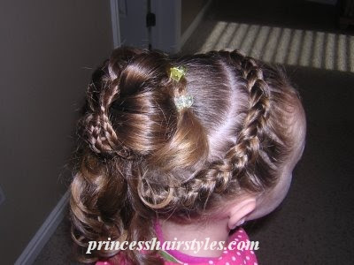 Pleasing Easter Hairstyles Hairstyles For Girls Princess Hairstyles Short Hairstyles Gunalazisus