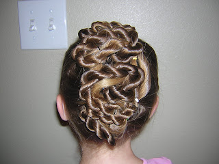 flower girl hairstyle twisted updo  hairstyles for