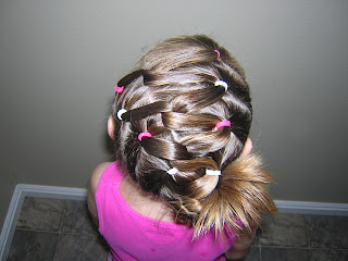twisty hairstyle