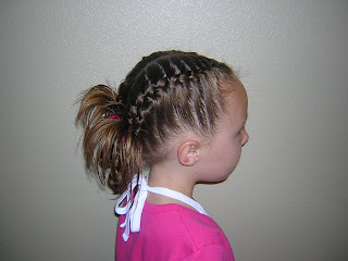french braids for a little girl