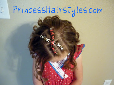 Fantastic 4Th Of July Hairstyles Hairstyles For Girls Princess Hairstyles Hairstyles For Women Draintrainus