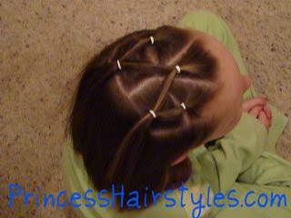 Ribbon Star Hairstyle Hairstyles For Girls Princess